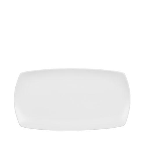 Churchill Art De Cuisine Menu Nori Large Rectangular Plate 35.5 x 19cm White
