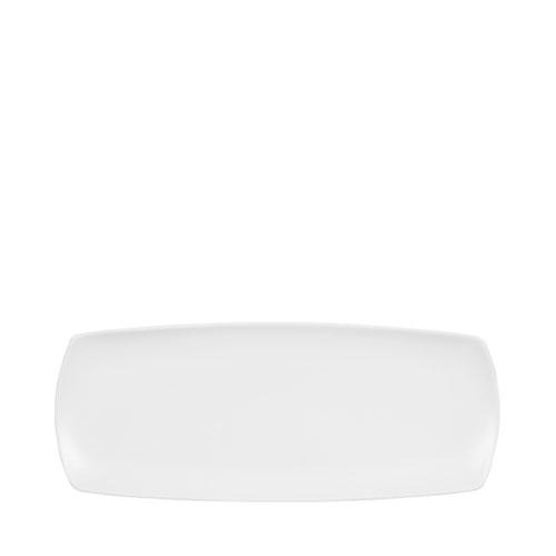 Churchill Art De Cuisine Menu Nori Medium Rectangular Plate 35.5 x 14cm White