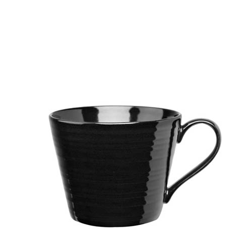 Churchill Art De Cuisine Rustics  Snug Mug 12oz Black