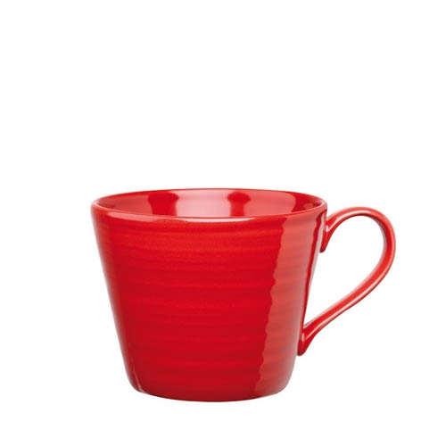 Churchill Art De Cuisine Rustics  Snug Mug 12oz Red