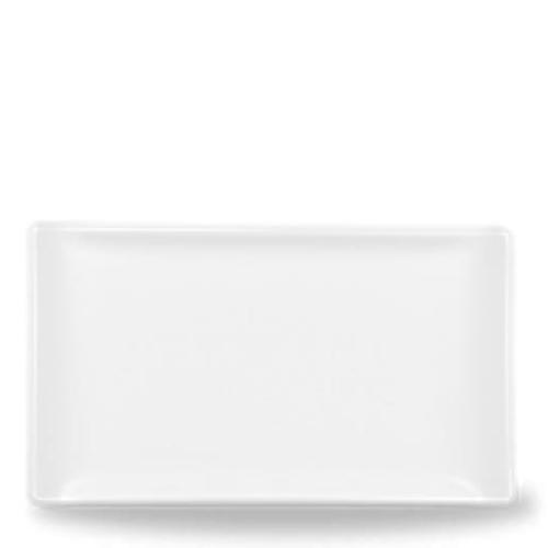 Alchemy Buffet Rectangular Tray 17 x 10cm White