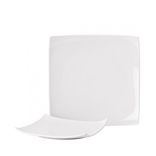 Utopia Pure White Square Plate (10.75