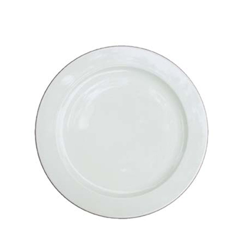"Churchill Alchemy Plate 10.62"" White"