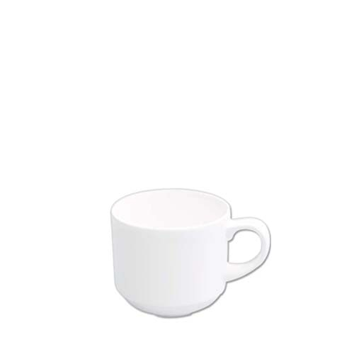 Churchill Alchemy Stacking Tea Cup 7.5oz White