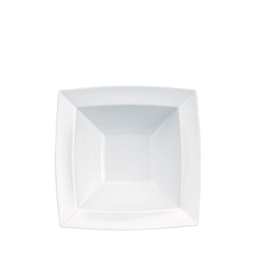 "Churchill Alchemy Energy Square Bowl 8"" (20.3cm) White"