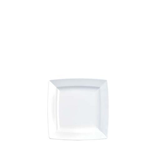"Churchill Alchemy Energy Square Plate 5.25"" White"