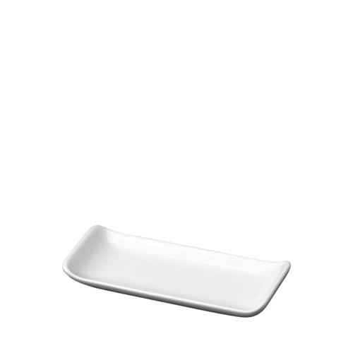"Churchill Alchemy Menu Mini Rectangular Tray 4""  White"