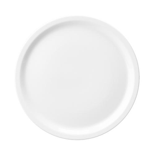 Churchill Plain White Pizza Plate/Platter 13.5