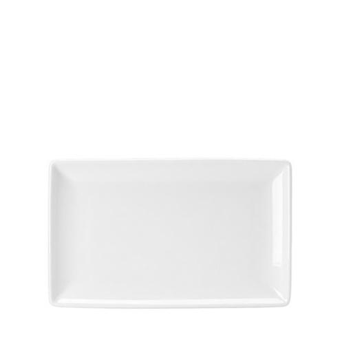 Steelite Taste Rectangle Platter (One) 27 x 16.75cm White