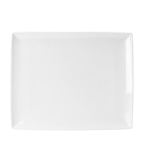 Steelite Taste Rectangle Platter (Two) 33 x 27cm White
