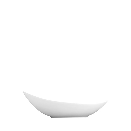 "Churchill Alchemy Balance Buffet Tear Dish 9.25""  White"