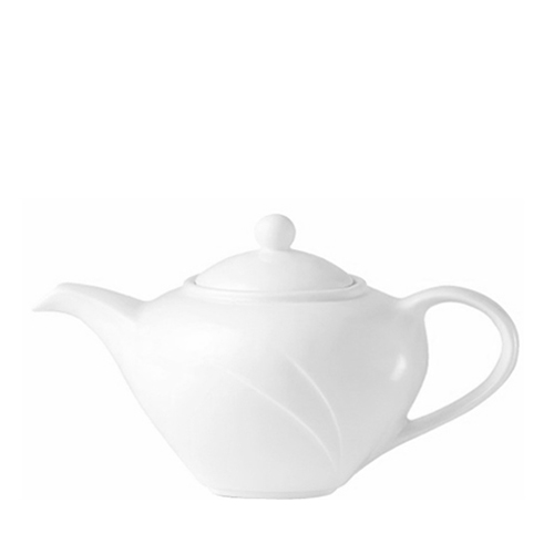Steelite Alvo  Medium Teapot 21oz White