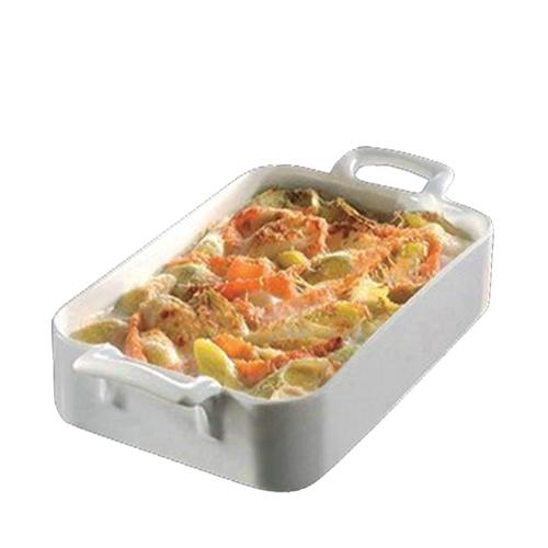 Revol Belle Cuisine Rectangular Roasting Dish 30x21.5cm 250cl White