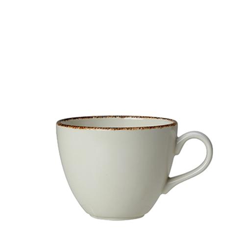 Steelite Dapple Brown Cup 10oz White/Brown