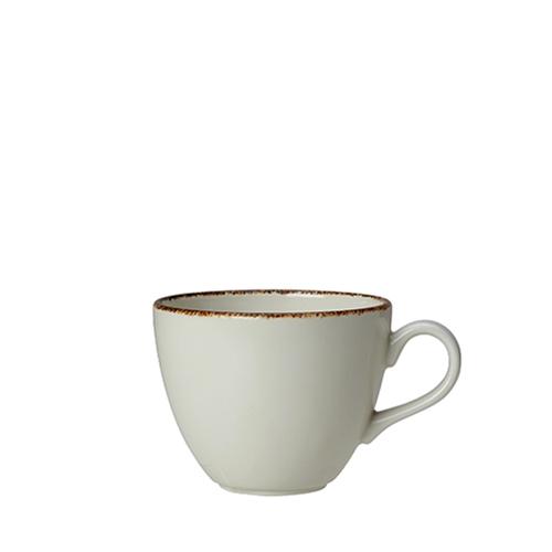 Steelite Dapple Brown Cup 8oz White/Brown