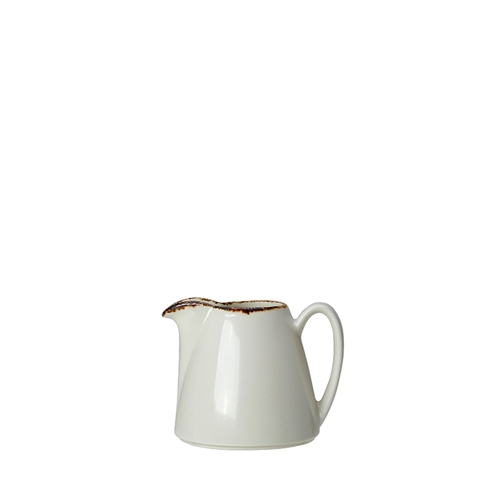 Steelite Dapple Brown Jug 5oz White/Brown