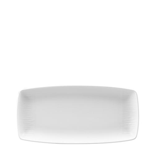 Churchill Bamboo Oblong Plate 29.5 x 14cm White