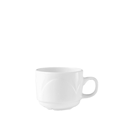 Steelite Bianco  Stacking Cup 7.5oz White