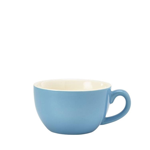 Genware Bowl Shaped  Cup 25cl Blue