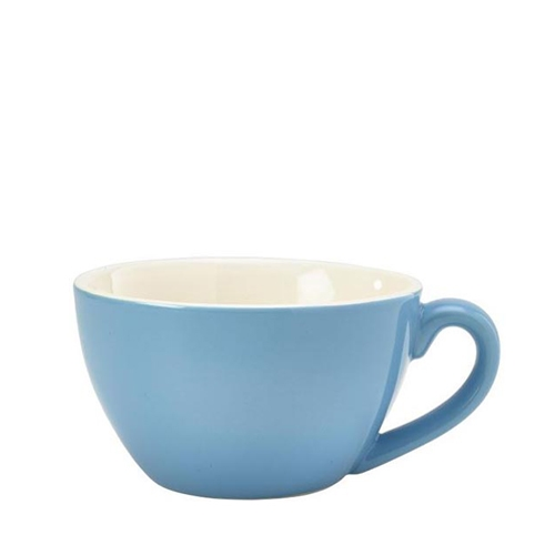 Genware Bowl Shaped  Cup 34cl Blue