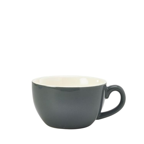 Genware Bowl Shaped  Cup 25cl Grey