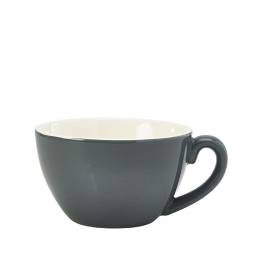 Genware Bowl Shaped  Cup 34cl Grey