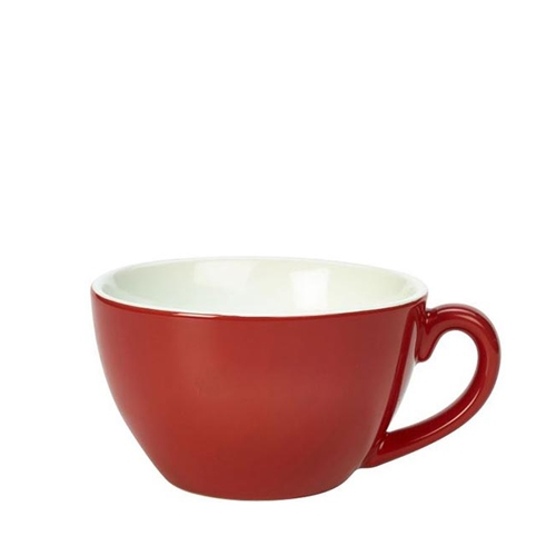 Genware Bowl Shaped  Cup 34cl Red