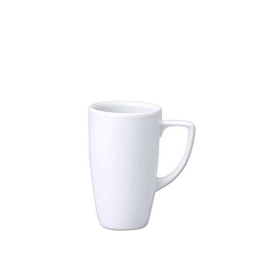 Churchill Ultimo Cafe Mocha Mug 10oz White