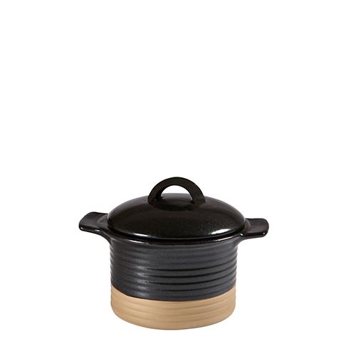 Churchill Black Igneous Cocotte 12.3oz