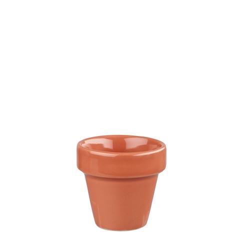 Churchill Bit On The Side Paprika Plant Pot 4oz Terracotta