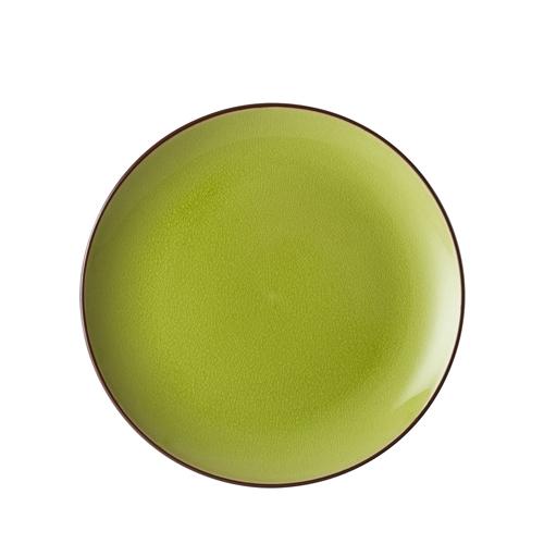 Utopia Soho Verdi Coupe Plate 26.5cm Green