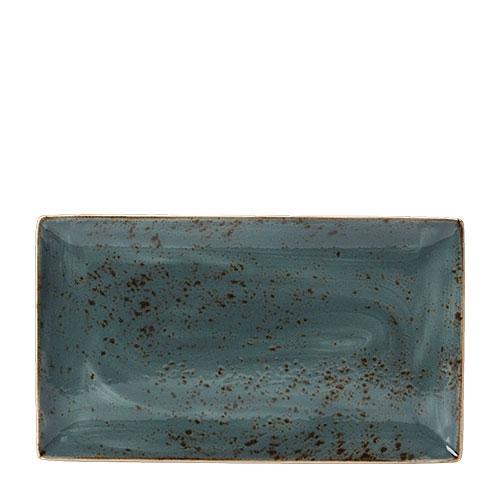 Steelite Craft Rectangle Three 33 x 19cm Blue