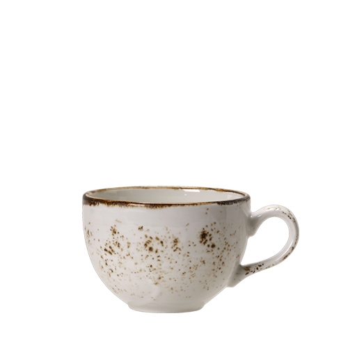 Steelite Craft White Low Cup 22.75cl White/Brown