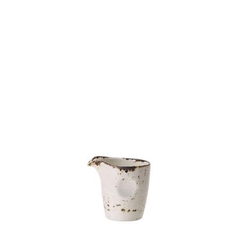 Steelite Craft White Pourer Unhandled 8.5cl White/Brown