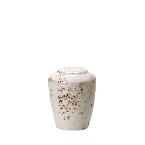 Steelite Craft White Pepper Pot White/Brown