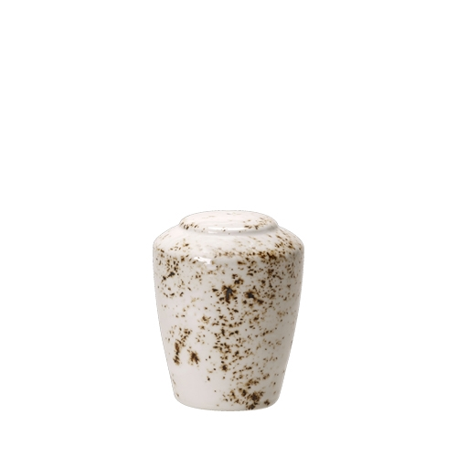 Steelite Craft White Salt Pot White/Brown