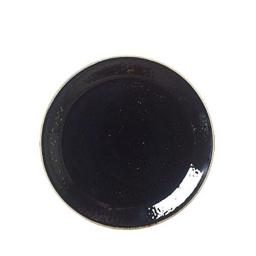 Steelite Craft Liquorice Coupe Plate 25.25cm Black