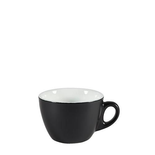 Churchill Menu Shades Cappuccino Cup 7oz Ash Black