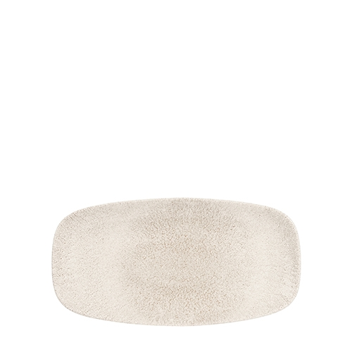 Churchill Raku Agate  Oblong Plate 29.8 x 15.3cm  Grey