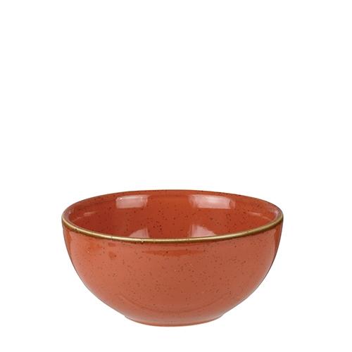 Churchill Stonecast Soup Bowl 16oz Spiced Orange