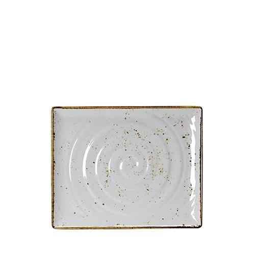 Steelite Craft White Melamine  Rectangular Platter GN 1/2 White/Brown