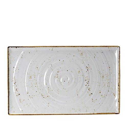 Steelite Craft White Melamine  Rectangular Platter GN 1/1 White/Brown