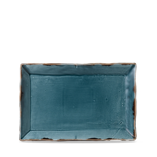 Dudson Additions by Churchill Harvest Chefs' Small Rectangular Tray 28.7 x 19cm Blue