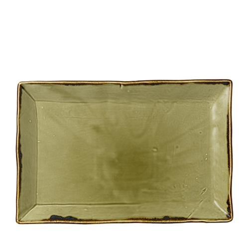 Dudson Additions by Churchill Harvest Chefs' Large Rectangular Tray 34.5 x 23cm Green