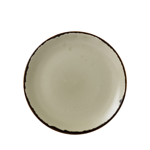 Dudson Additions by Churchill Harvest Evolve Coupe Plate 26cm Linen