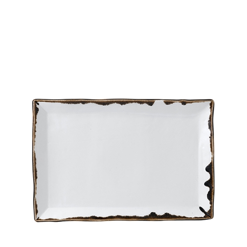 Dudson Harvest Chefs' Small Rectangular Tray 28.7 x 19cm Natural