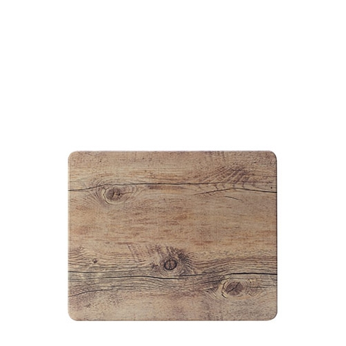 Steelite Melamine Driftwood  Rectangular Platter GN 1/2 Brown