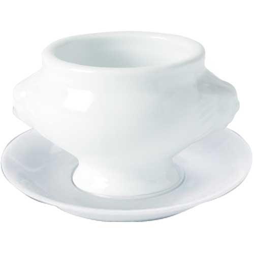 Porcelain Soup Bowl Stand 6.75