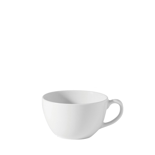 Utopia Porcelain Bowl Shaped Cup 9oz White