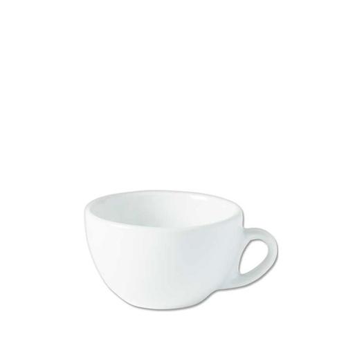Utopia Porcelain Italian Style Cup 10oz White